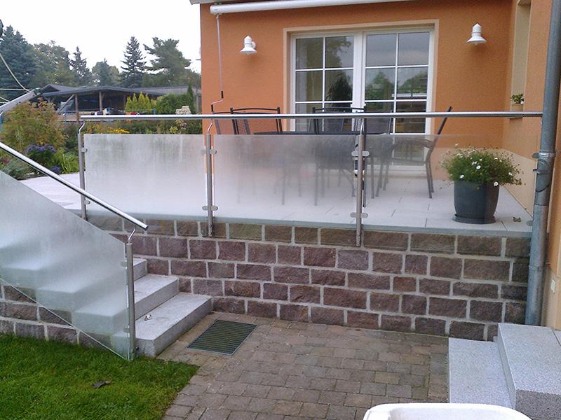 Metallbau Kokisch In Grossenhain Unsere Referenzen Im Bereich Gelander